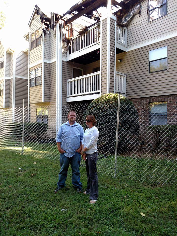 Friends of apartment fire victims rally to gather support and donations | Apartment Fire, Sussex Downs, Columbia, Fundraiser, Donations, Franklin, Franklin Fire Department,