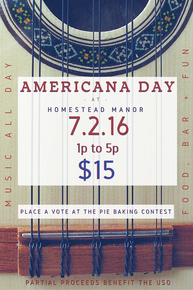 Homestead Manor hosting Americana Day Saturday