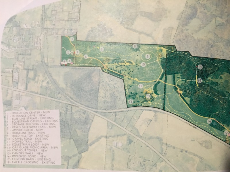 Officials consider initial plans for new Thompson's Station Preservation Park