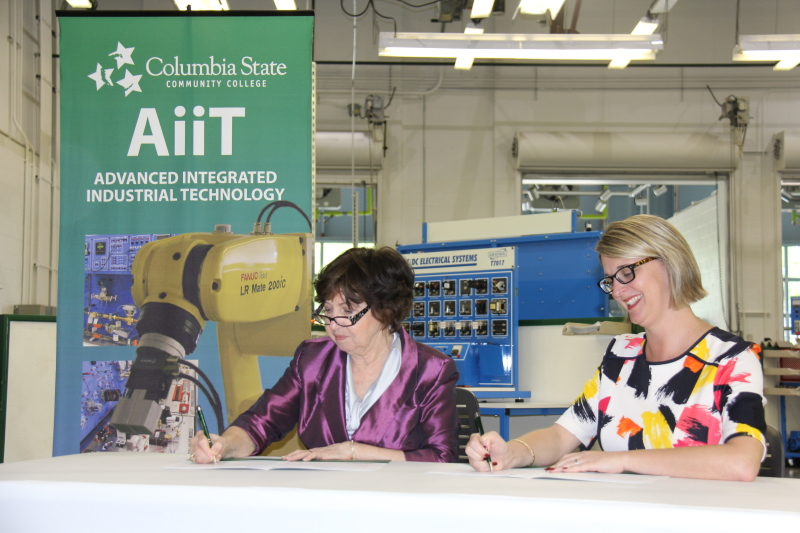 Columbia State partners with WCS to start up mechatronics program at Fairview